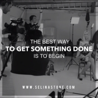 life on set, the making of you by selina stone
